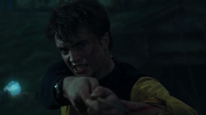 The wand of Cedric Diggory (Robert Pattinson) in Harry Potter and the goblet of fire movie