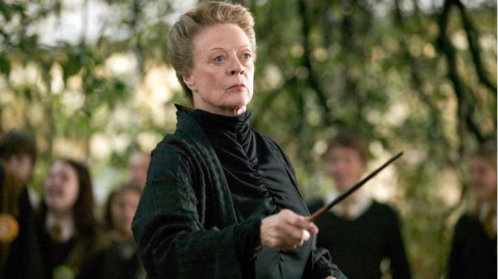 Fashion Trends 2021: The wand of Minerva McGonagall (Maggie Smith) in Harry Potter