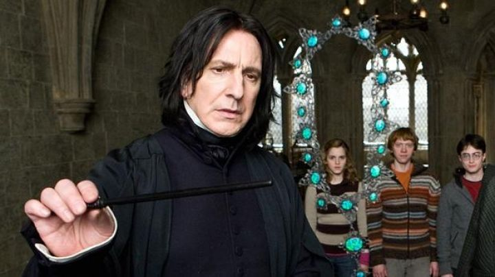 Fashion Trends 2021: The wand of Severus Rogue (Alan Rickman) in Harry Potter and the half-blood prince