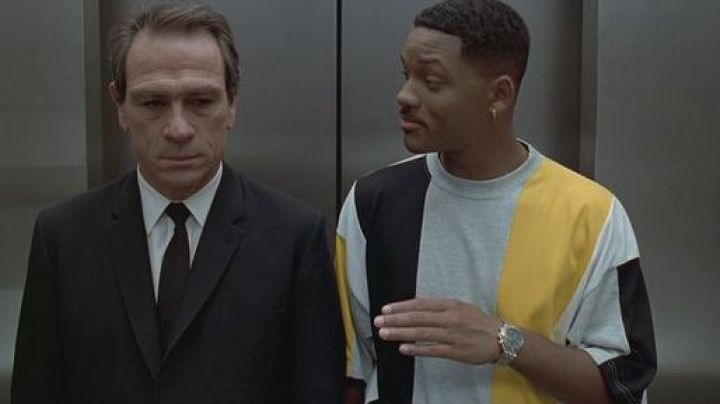 The watch Breitling Chronograph James Edwards III (Will Smith) in Men in Black
