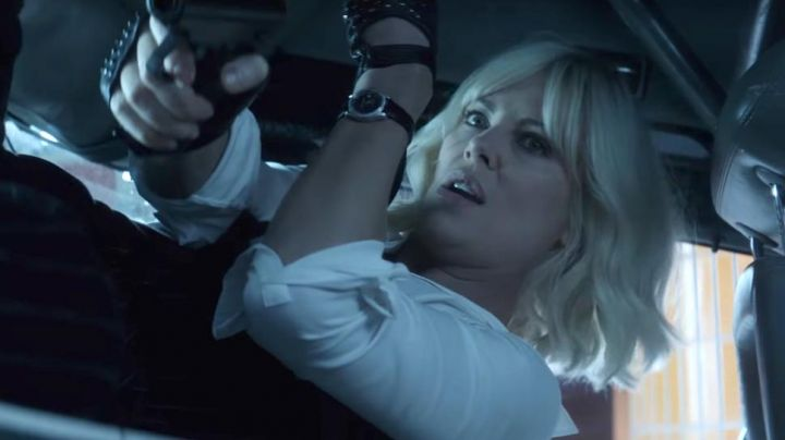 The watch Carl F. Bucherer Lorraine Broughton (Charlize Theron) in Atomic Blonde