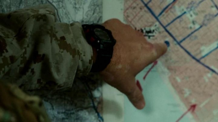 Fashion Trends 2021: The watch Casio G-Shock Rus Blackwell in World Invasion : Battle Los Angeles