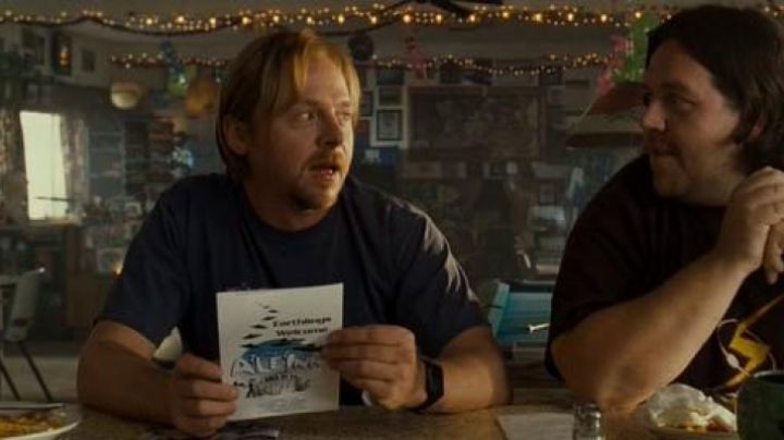 The watch Casio ca-53w of Graeme Willy (Simon Pegg) in Paul movie