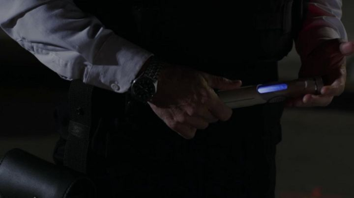 Fashion Trends 2021: The watch IWC George Stacy (Denis Leary) in The Amazing Spider-Man