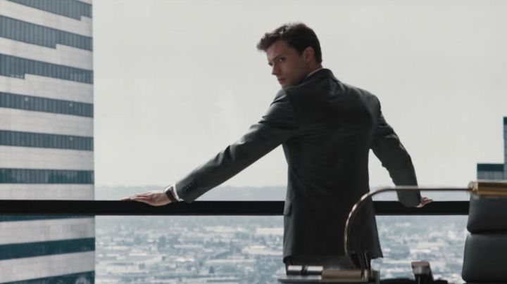 The watch Omega Aqua Terra Christian Grey (Jamie Dornan) in Fifty shades of Grey