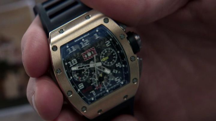 Fashion Trends 2021: The watch Richard Mille RM11 Jason Statham in Parker