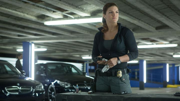 The watch of Riley (Gina Carano) in Fast and Furious 6