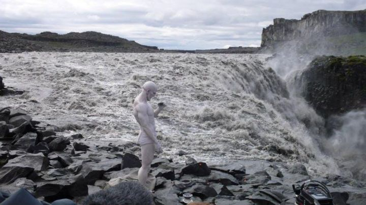 The waterfall of Dettifoss (North of Iceland) in Prometheus - Movie Outfits and Products