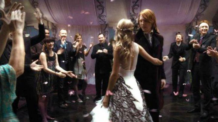 Fashion Trends 2021: The wedding dress of Fleur Delacour (Clemence Poesy) in Harry Potter and the deathly hallows