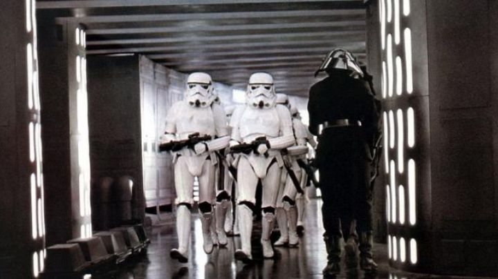 Fashion Trends 2021: The white boots of the Stormtroopers in Star Wars IV : A new hope