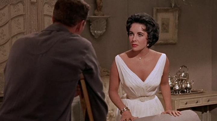 Fashion Trends 2021: The white dress of Elizabeth Taylor in Cat on a hot tin roof