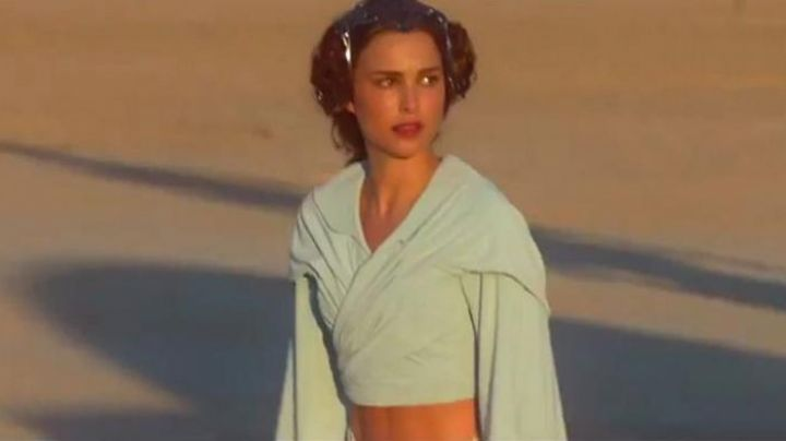 Fashion Trends 2021: The white dress of Padme Amidala (Natalie Portman) in Star Wars II : attack of The clones