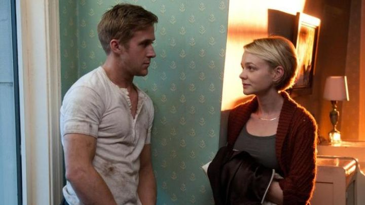 The white t-shirt worn by Ryan Gosling in Drive - Movie Outfits and Products