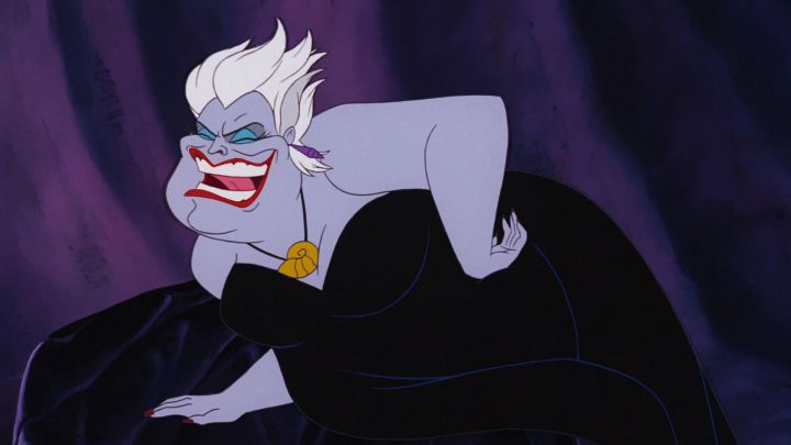 The wig Ursula in The Little Mermaid - Movie Outfits and Products
