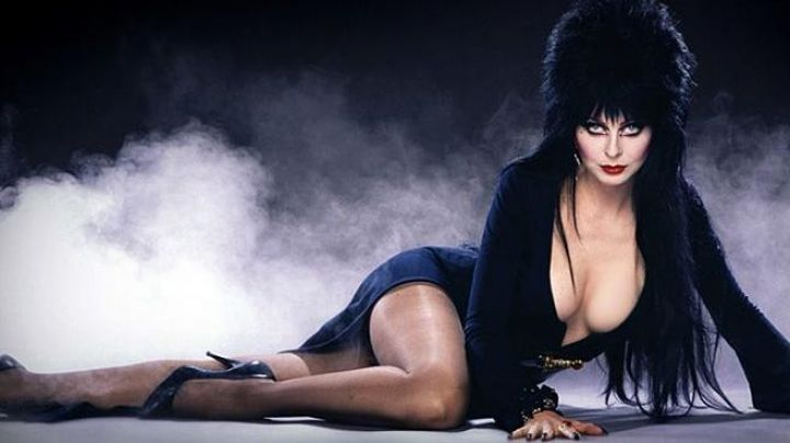 The wig brunette Elvira (Cassandra Peterson) Elvira, mistress of darkness - Movie Outfits and Products