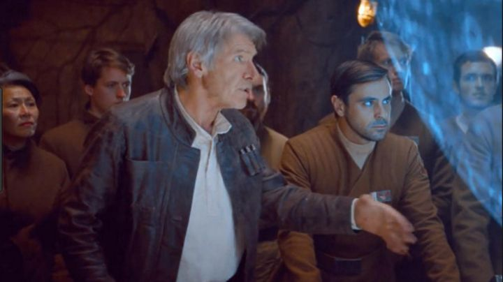 Fashion Trends 2021: The wig of Han Solo (Harrison Ford) in Star Wars VII : The awakening of the force