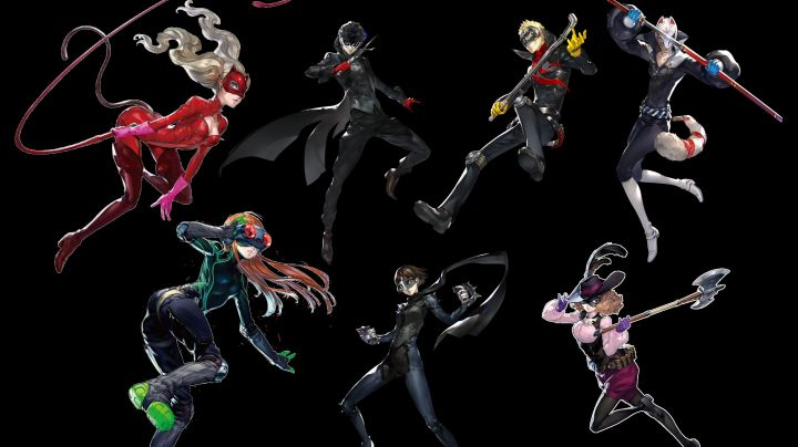 The wig of the hero in Persona 5 the Animation - Movie Outfits and Products
