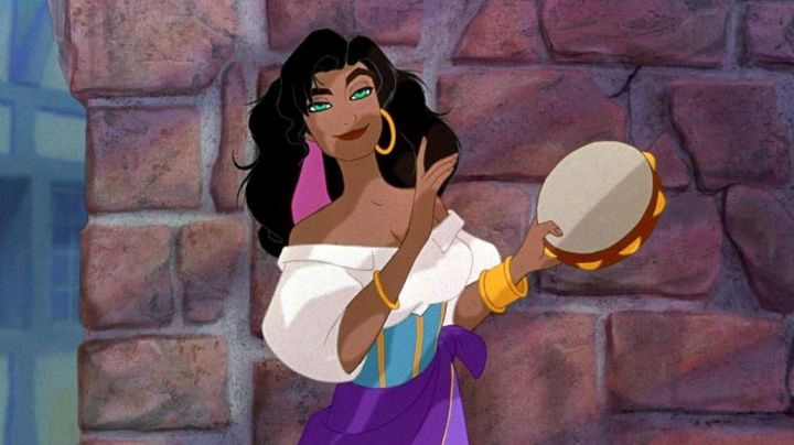The wig off of Esmeralda in The hunchback of Notre-Dame - Movie Outfits and Products