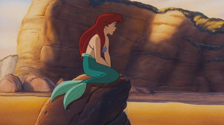 The wig redhead Ariel in the cartoon The little mermaid - Movie Outfits and Products