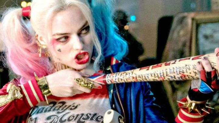 The wig to cosplay Harley Quinn (Margot Robbie) in Suicide Squad movie
