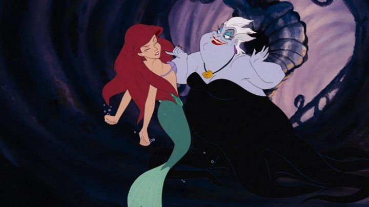 The wig's white Ursula in The Little Mermaid - Movie Outfits and Products