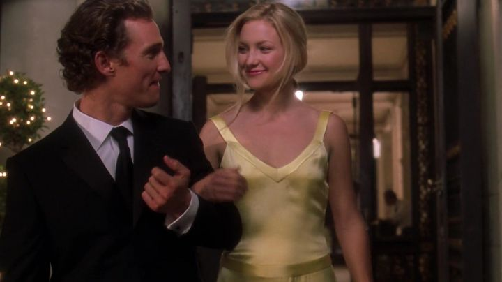 Fashion Trends 2021: The yellow dress of Andie Anderson (Kate Hudson) in How to get Dumped in 10 Lessons