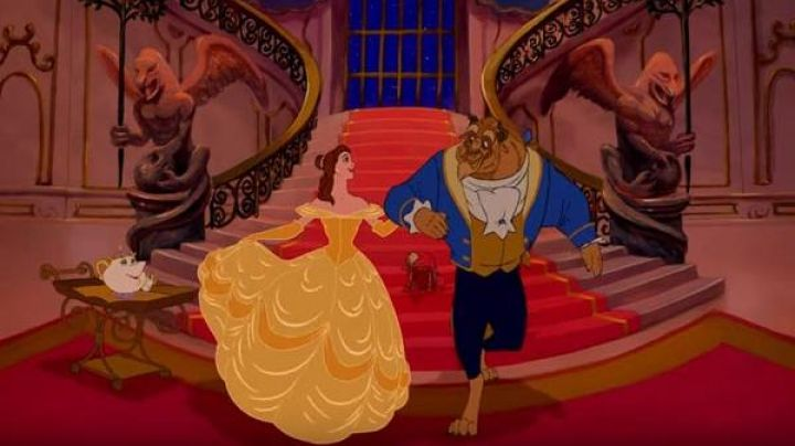 The yellow dress prom Belle in beauty and The Beast