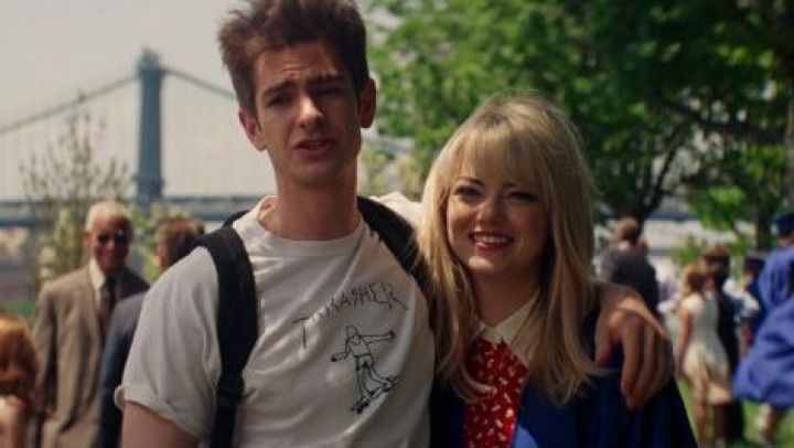 Thrasher t-shirt worn by Peter Parker (Andrew Garfield) as seen in The Amazing Spider-Man 2 Movie