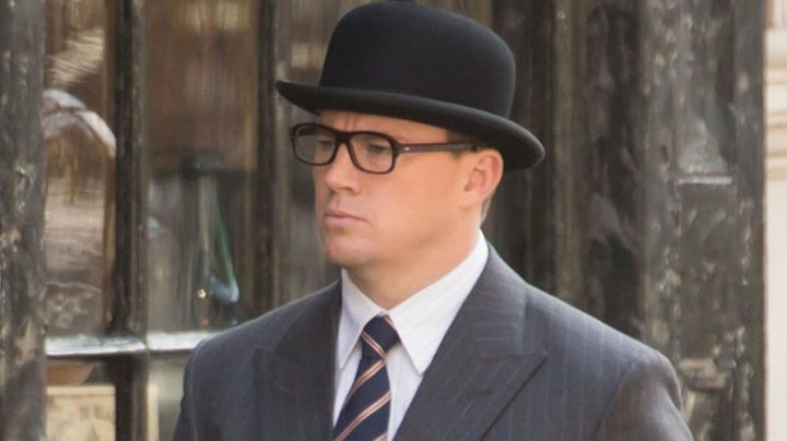Tie, Drake's Agent Tequila (Channing Tatum) in Kingsman : The golden circle - Movie Outfits and Products
