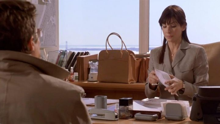 Tod's Leather Bag of Lucy Kelson (Sandra Bullock) in Two Weeks Notice Movie