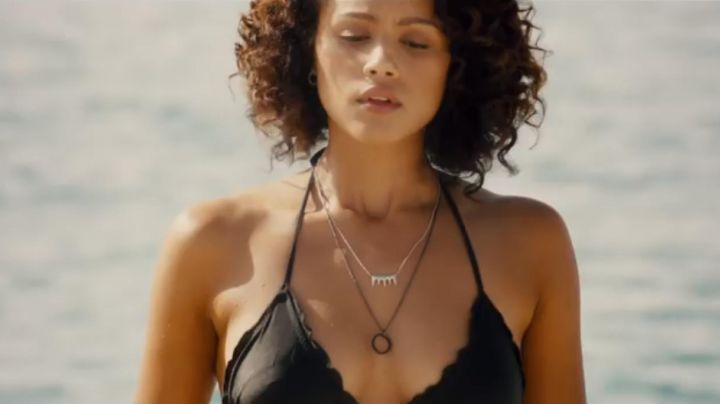TopShop Necklace worn by Nathalie Emmanuel in Fast and Furious 7 - Movie Outfits and Products