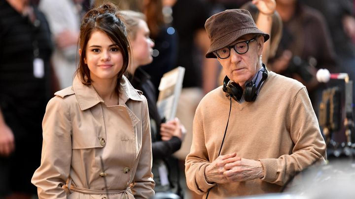 Trench Coat worn by Selena Gomez as seen in the set of A Rainy Day In New York - Movie Outfits and Products