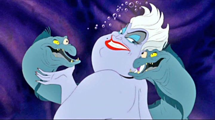 Ursula's white wig in The Little Mermaid - Movie Outfits and Products