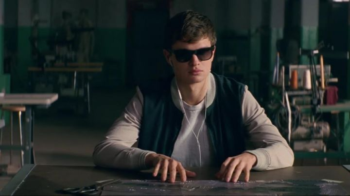 Fashion Trends 2021: Varsity Jacket worn by Miles / Baby (Ansel Elgort) as seen in Baby Driver