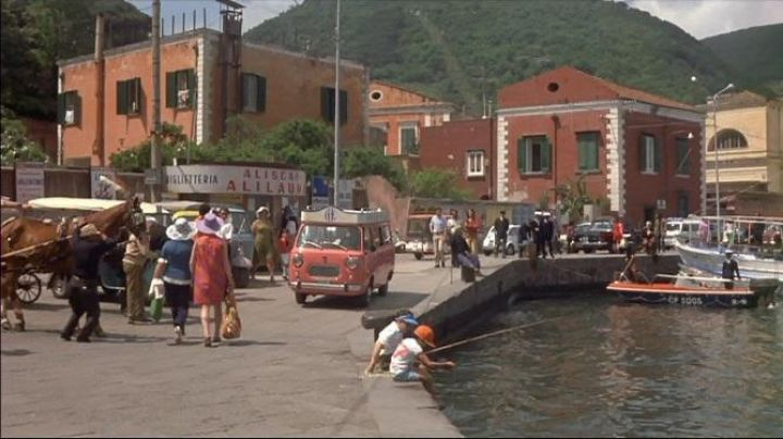 Via Iasolino Ischia in Italy in Avanti ! - Movie Outfits and Products