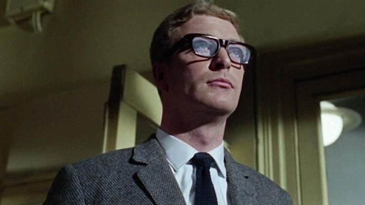 Vintage Eyeglasses worn by Harry Palmer (Michael Caine) as seen in The Ipcress File Movie