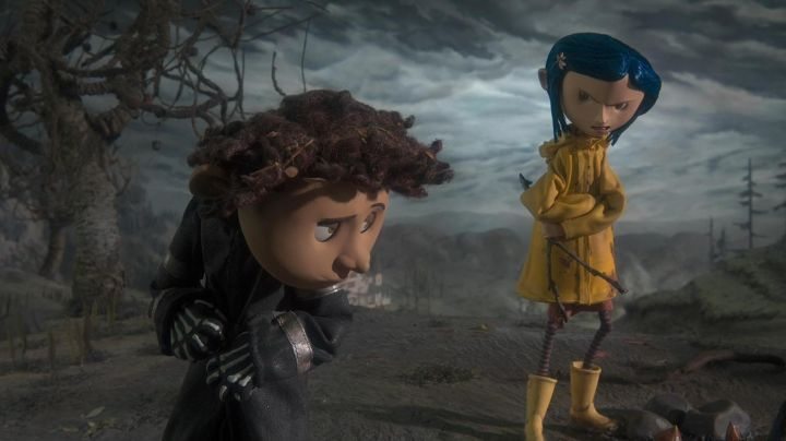 Fashion Trends 2021: Waterproof yellow of Coraline in the animated film Coraline