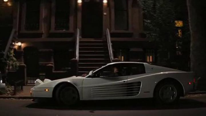 White Ferrari Testarossa driven by Jordna Belfort (Leonardo DiCaprio) as seen in The Wolf Of Wall Street - Movie Outfits and Products