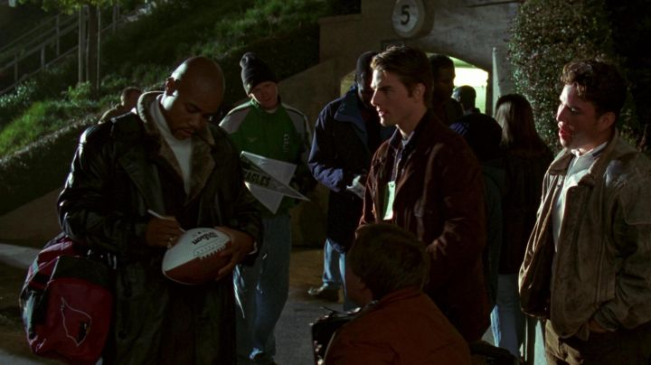 Wilson Football used by Rod Tidwell (Cuba Gooding Jr.) in Jerry Maguire Movie