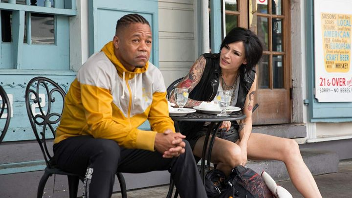 Yellow and White Jacket worn by Rodney Jones (Cuba Gooding Jr.) as seen in Bayou Caviar Movie