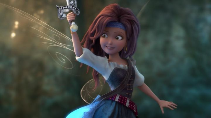 Zarina's auburn wig as seen in Tinker Bell and the Pirate Fairy - Movie Outfits and Products
