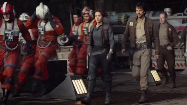 Fashion Trends 2021: boots Jyn Erso (Felicity Jones) in Rogue One