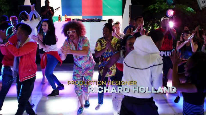sneakers leopard blue Redfoo (LMFAO) in Alvin and the chipmunks Road chip - Movie Outfits and Products