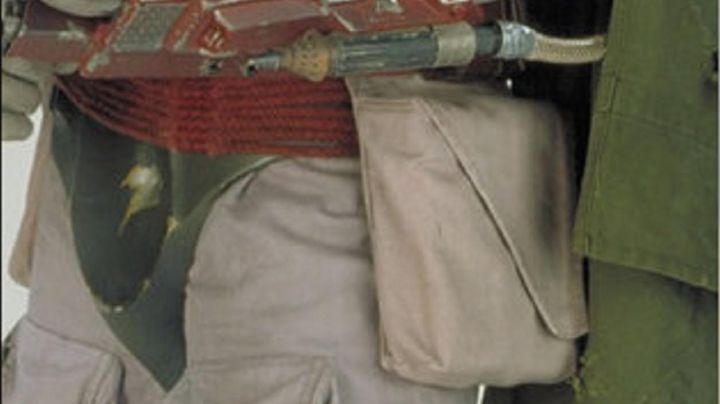 the 2 pockets terrain of the Scout trooper in Star Wars IV : A new hope - Movie Outfits and Products