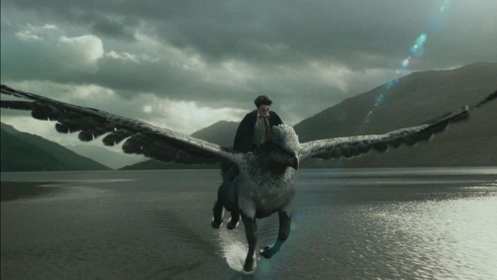 the Hippogriffe Buck in Harry Potter and the prisoner of Azkaban - Movie Outfits and Products