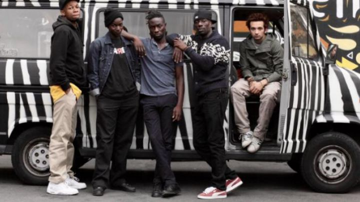 the Puma sneakers of Doudou Masta in The team - Movie Outfits and Products
