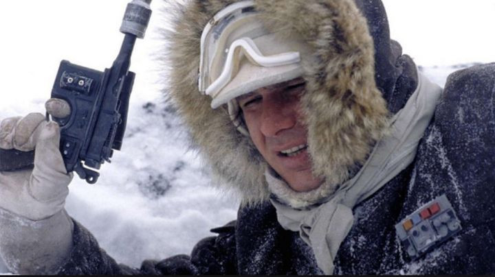 Fashion Trends 2021: the badge Han solo (Harrison Ford) in Star Wars V : The empire against attack