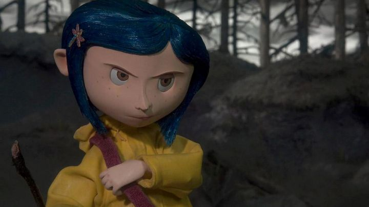 The Bar In The Shape Of A Dragonfly Of Coraline In The Animated Film Coraline Movie