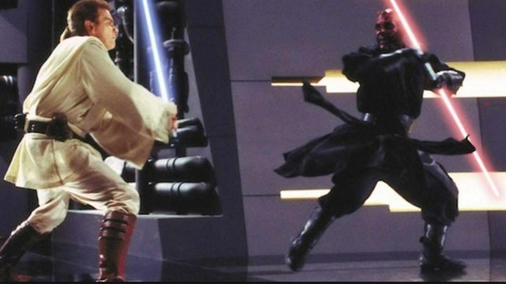 Fashion Trends 2021: the boots of Darth Maul (Ray Park) in Star wars VII, The awakening of the force