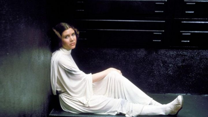 Fashion Trends 2021: the boots of Princess Leia (Carrie Fisher) in Star Wars IV : A new hope